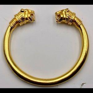 MMA Ancient Greek Style Dual Lion's Head Bracelet